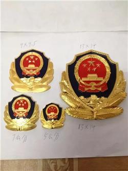 各类小警徽制作